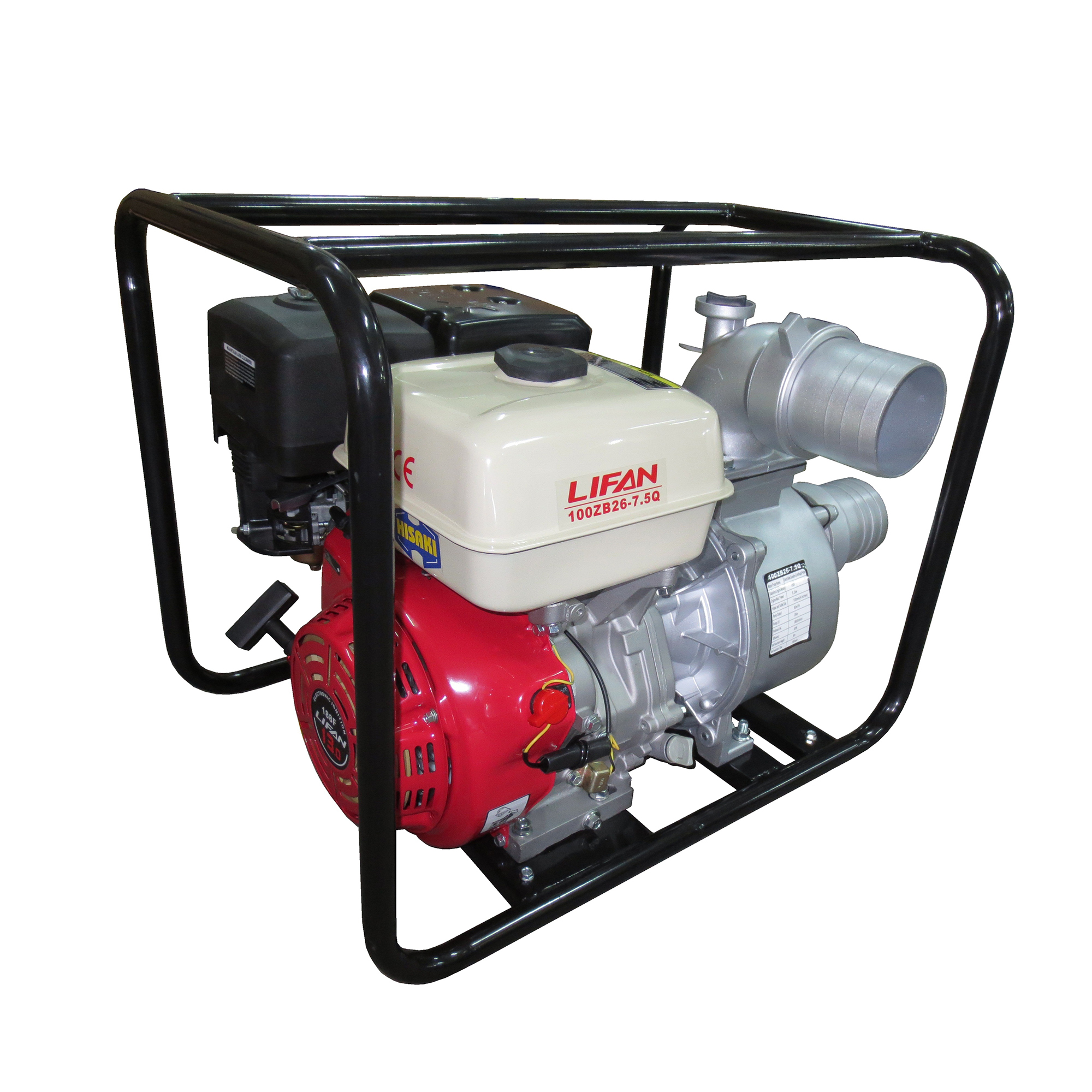 4″ SELF-PRIMING PUMP